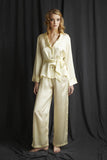 silk pj's luxury nightwear Alice & Astrid made in England