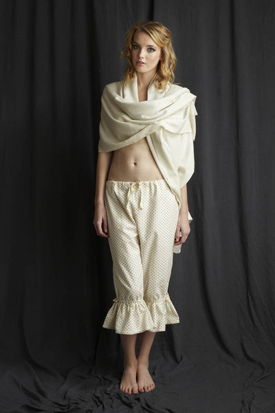 Vintage style bloomers brushed cotton nightwear by Alice & Astrid