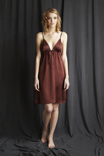 silk nightie Alice & Astrid luxury nightwear