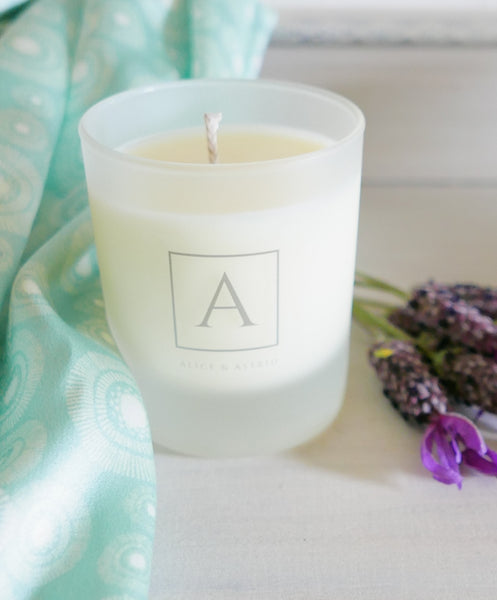 Alice & Astrid pure soy wax luxury candle