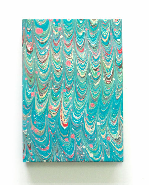 Marble note book A5 lined Abalone Non Pareil