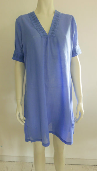 Cornflower blue tunic