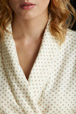 collar detail nightwear