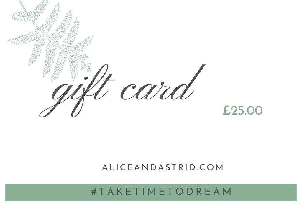 Alice & Astrid Gift Card