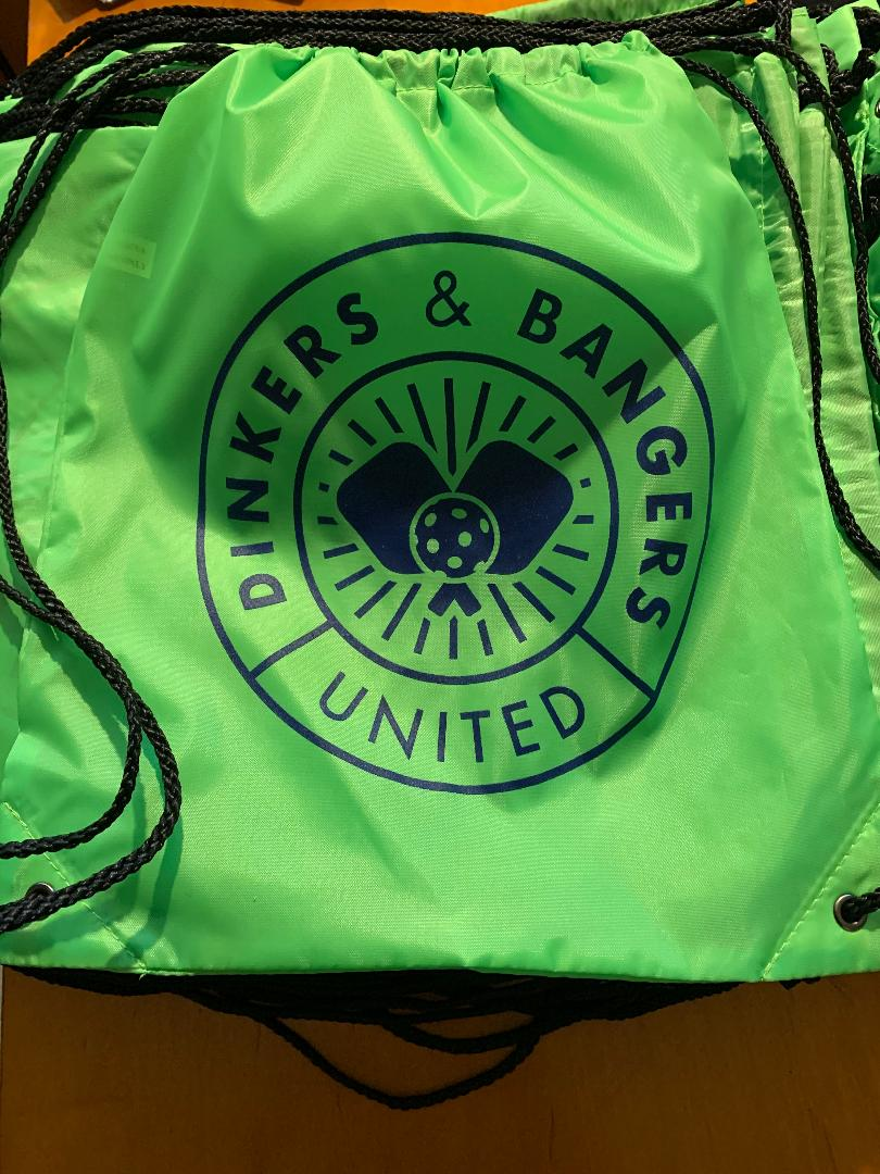 DINKERS & BANGERS UNITED Paddle or Shoe BAG
