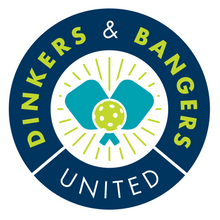 Load image into Gallery viewer, Dinkers and Bangers United™ Pickleball Logo