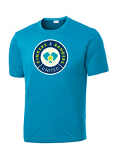 Dinkers & Bangers United - Performance Pickleball Tee - Blue
