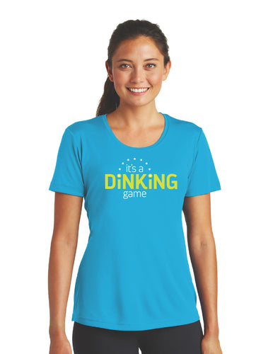 It's a Dinking Game - Womens Performance Court Shirt