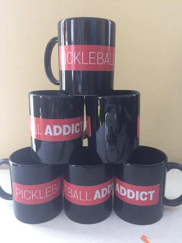 BIG Pickleball Addict Mug