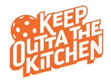 Keep Outta The Kitchen - Pickleball Apron