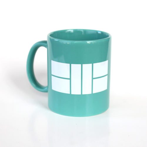 Let's Play Pickleball Court - 11oz Teal Mug