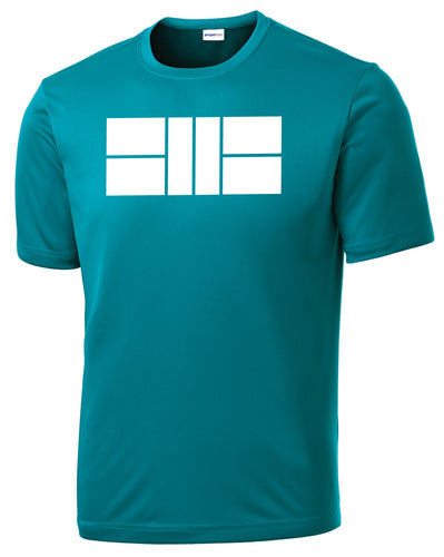 Pickleball Court - Mens Performance Tee