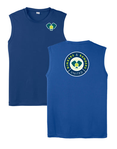 Dinkers & Bangers United™ - Mens Sleeveless Performance Tee - 2 Sided