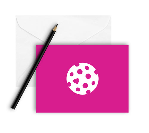 The Heart of Pickleball - Note Cards (Set of 8)