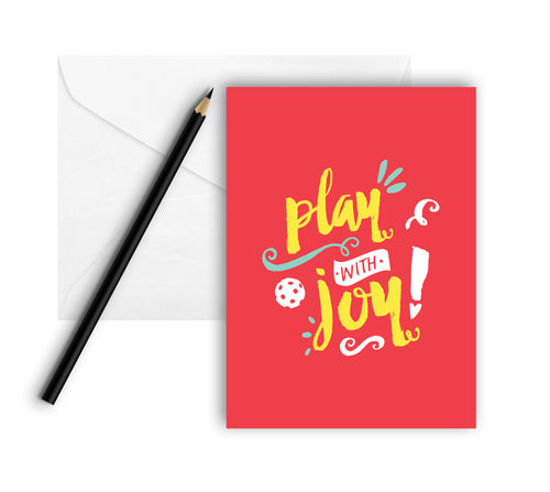 Play with Joy! - Note Cards (Set of 8)
