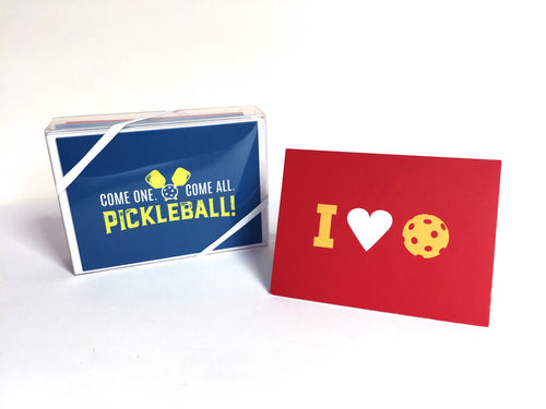 Pickleball Note Cards (Set of 15)