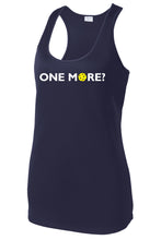 Load image into Gallery viewer, One More? - Womens Performance Racerback Tank