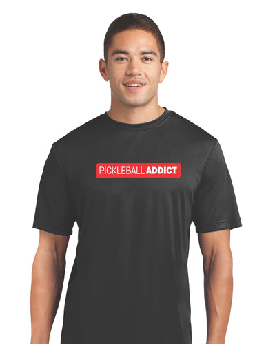 Pickle ball Addict - Mens Performance Court Shirt