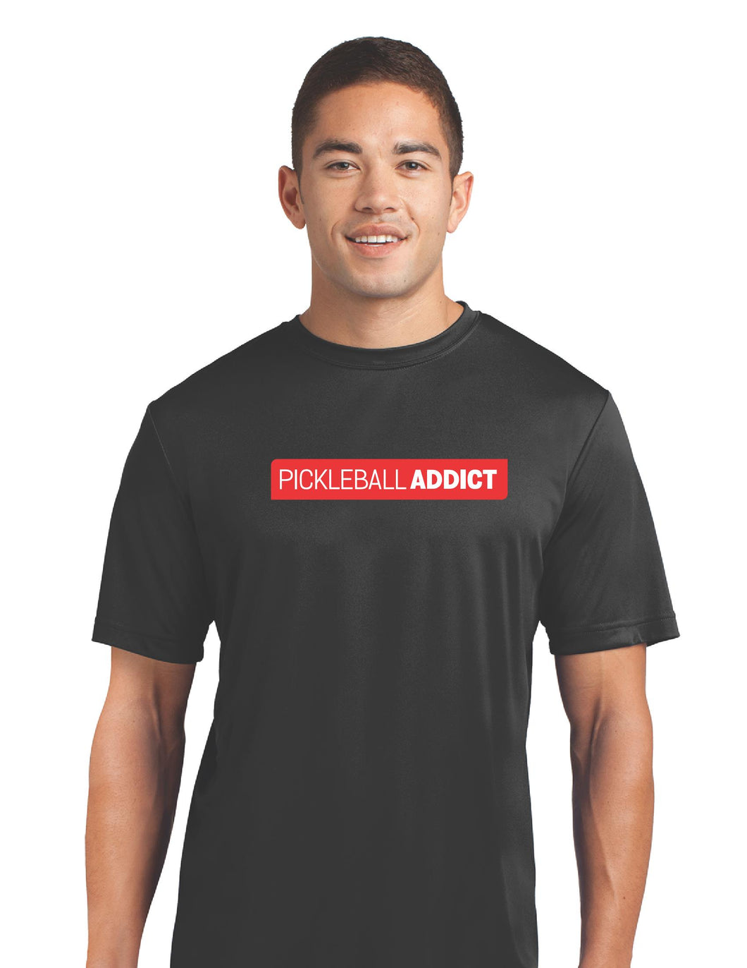Pickleball Addict - Mens Performance Tee