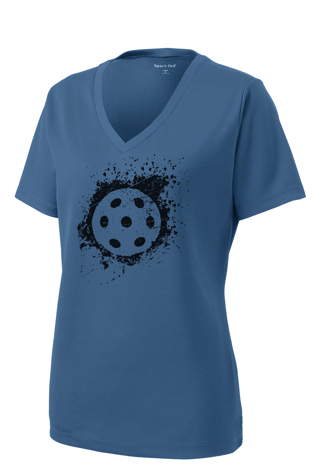 Dinkers & Bangers Rugged Pickleball Performance Tee Blue
