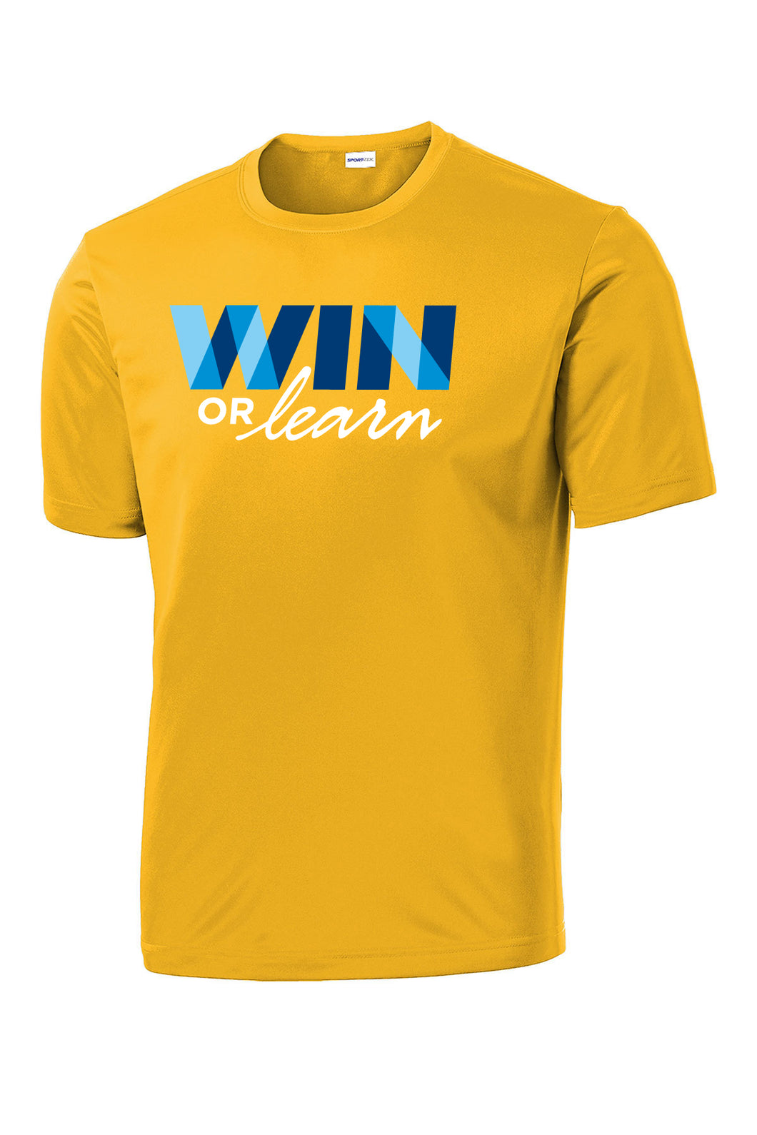 WIN or Learn - Men's Short Sleeve Performance Tee