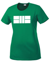 Pickleball Court - Womens Performance Crew Tee