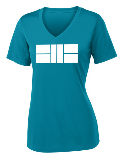Pickleball Court - Womens Performance Tee