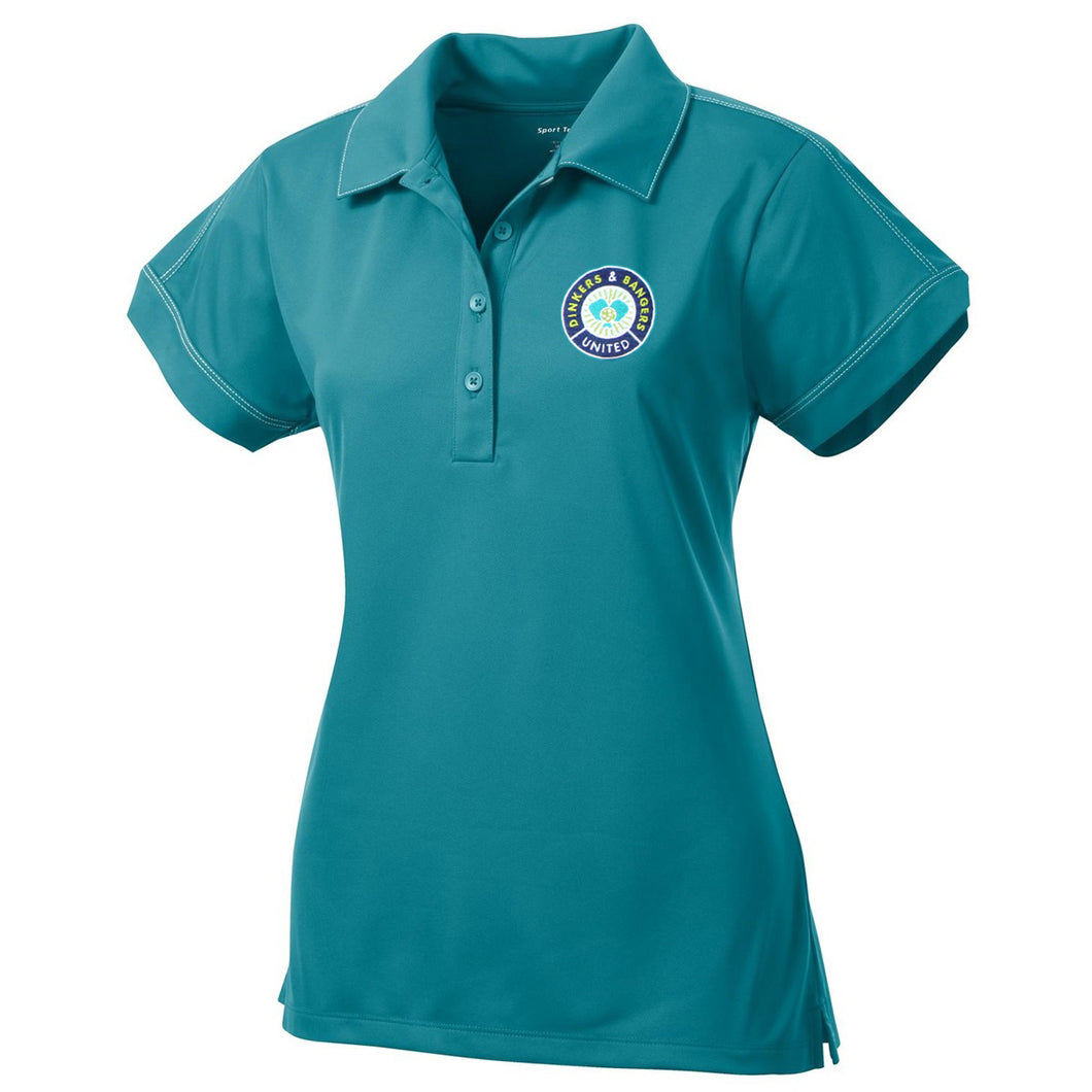 Dinkers & Bangers United™ - Womens Performance Polo