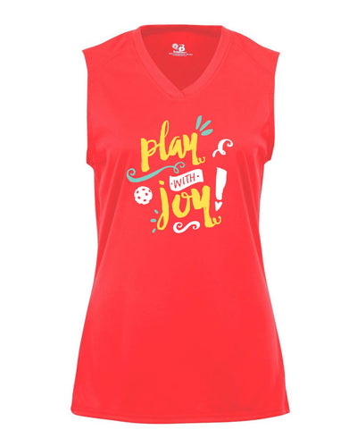 Play with Joy! - Performance Sleeveless Tee