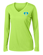 Load image into Gallery viewer, Dinkers & Bangers United™ - Womens Long Sleeve Performance Tee - 2 Sided