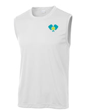 Load image into Gallery viewer, Dinkers & Bangers United™ Mens Sleeveless Performance Pickleball Tee - Front View