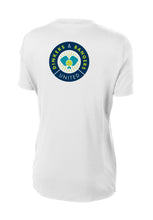 Dinkers & Bangers United™ Womens Performance Pickleball Tee - Back View