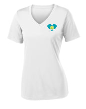 Dinkers & Bangers United™ Womens Performance Pickleball Tee - Front View