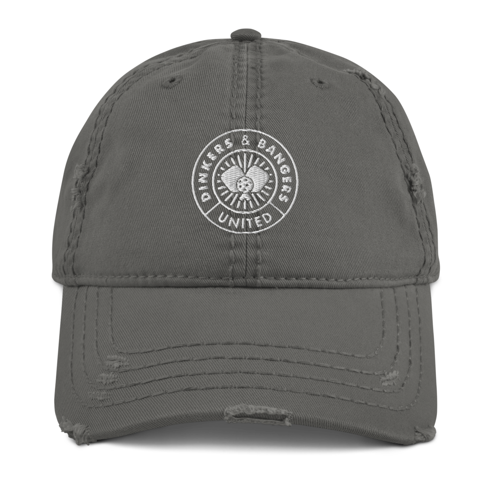 Dinkers & Bangers United™ - Distressed Cotton Cap