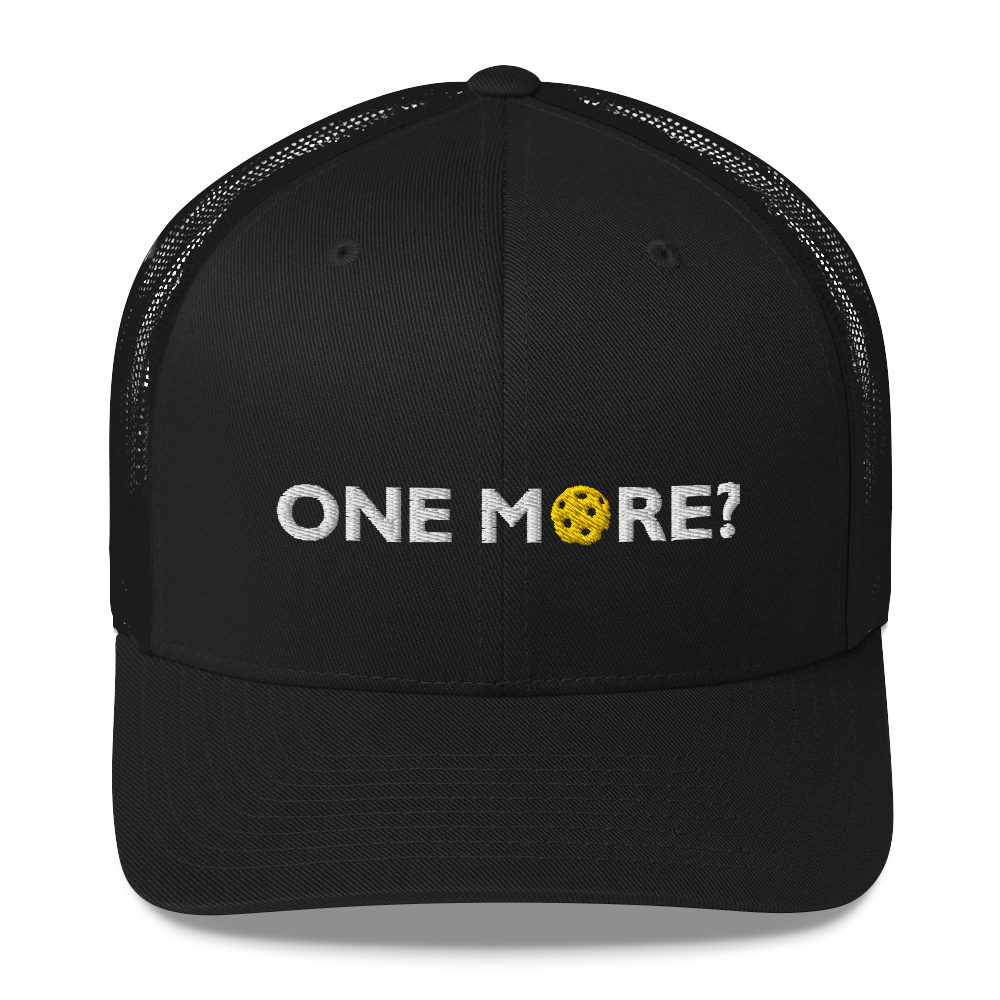 One More? - Embroidered Mesh Hat