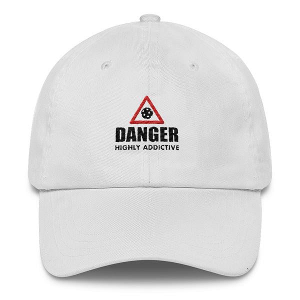 Danger Highly Addictive - Pickleball - Embroidered Hat