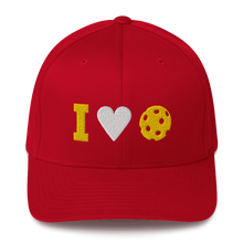 I Love Pickleball - Embroidered Dri Fit Cap