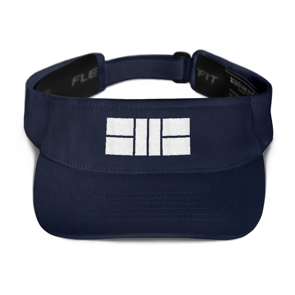 Pickleball Court - Embroidered Visor