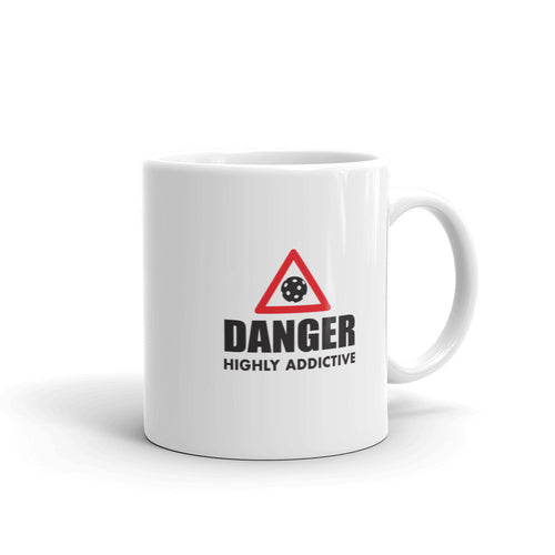 Danger Highly Addictive 11oz Pickleball Mug