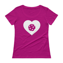 LOVE - Women's Cotton Pickleball T-Shirt