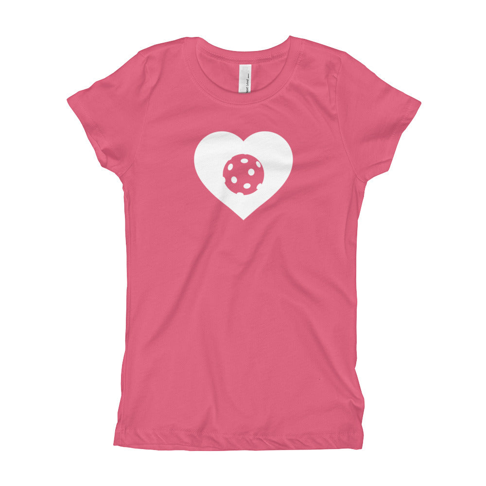 LOVE - Girls Pickleball T-Shirt