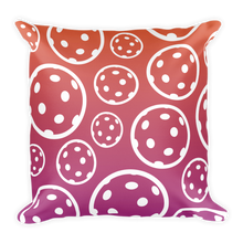 "Load image into Gallery viewer, Summer Fun - Pickleball Pillow - 18"" x 18"""
