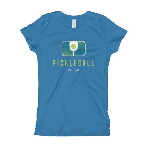 Retro Paddle - Kids Pickleball T-Shirt