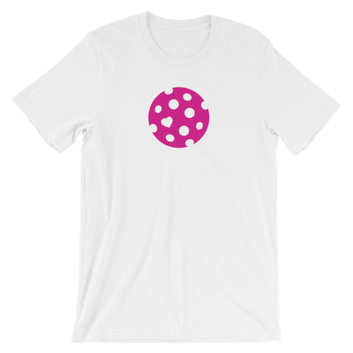 The Heart of Pickleball womens t-shirt is soft and comfortable with a subtle yet powerful message letting everyone know you have Pickleball in your heart.