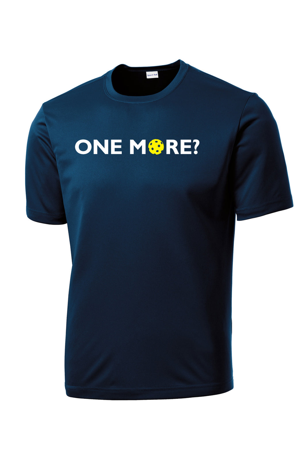 One More? Mens Performance Pickleball Tee