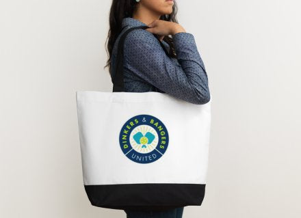 Dinkers & Bangers United - Pickleball Tote Bag
