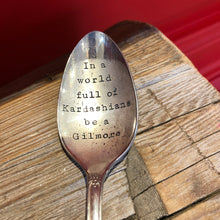 Stamped Silverware, Gilmore Girls Themed