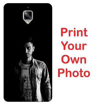 For Oneplus 3 / 3T Hard Matte Back Cover Print Your Own Custom Case