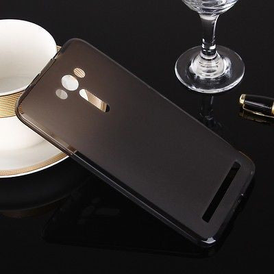 For Asus Zenfone 2 Laser ZE550KL (5.5 Inch) Pudding Soft TPU Silicon Case Cover