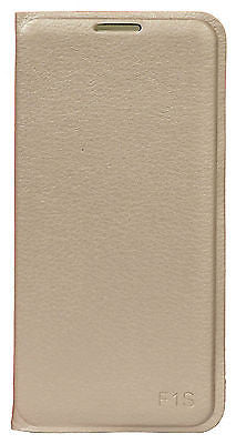 For Oppo F1S Premium Synthetic Leather Flip Cover Case